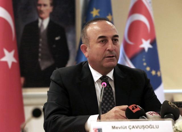 Mevlut Cavusoglu - fotó:AP / Burhan Ozbilici
