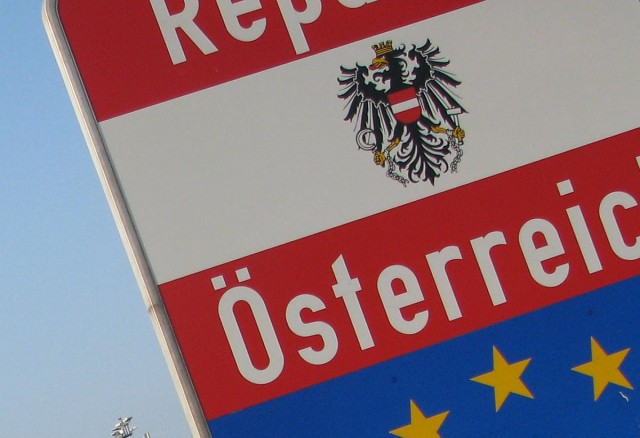 Az osztrákok szép lassan visszavezetik a határellenőrzést