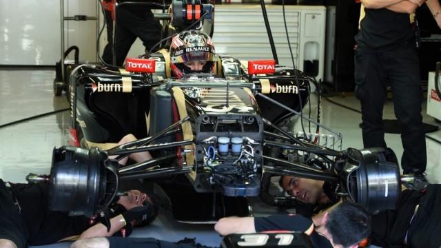 A Hungaroringen tesztel idén az F1