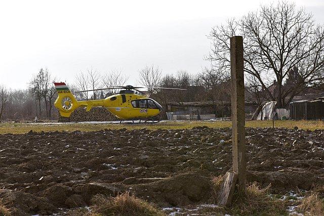 Rosszulléthez érkezett a helikopter Drávaszabolcsra – frissítve