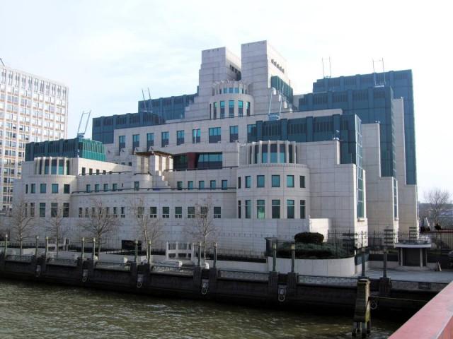 Az MI6 főhadiszállása Londonban.