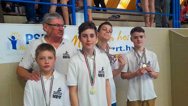 Diákolimpia: tizenegy aranyérem a megyei döntőben