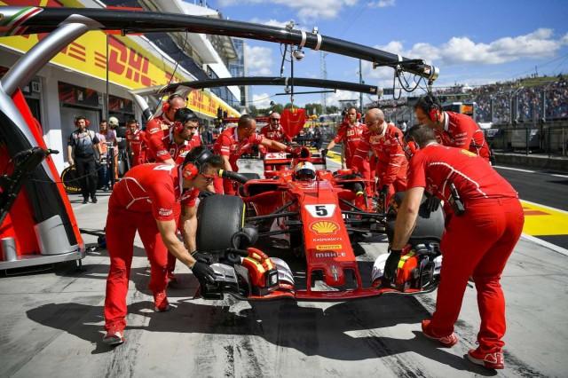 Ferrari indul az első rajtkockából a Hungaroringen
