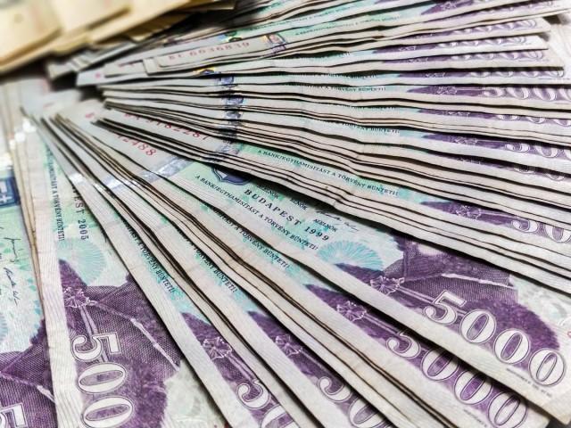 A Harkányban forgó régi bankjegyek jelentős részét a vendégek hozzák