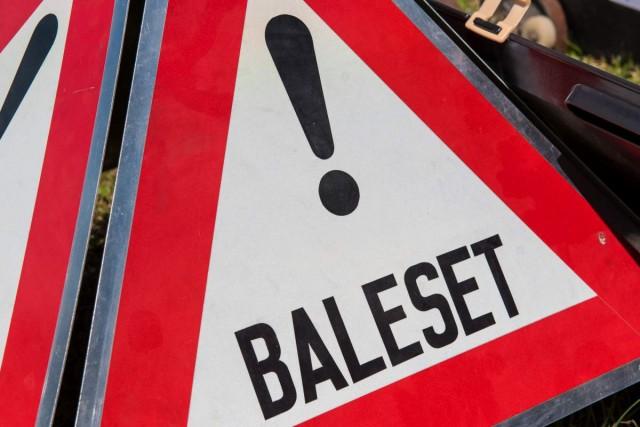 Baleset miatt zárták le az 58-ast – frissítve: sérültek