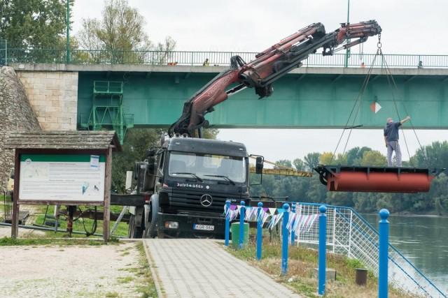 Rövidhír: új mólót kaptak a rendőrhajók
