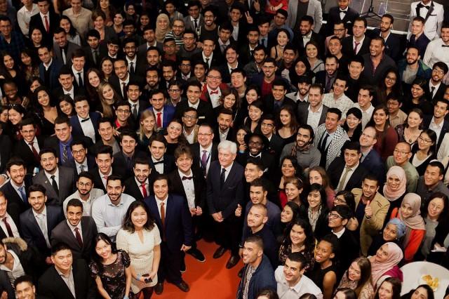Négyezredik külföldi hallgatóját köszöntötte a PTE
