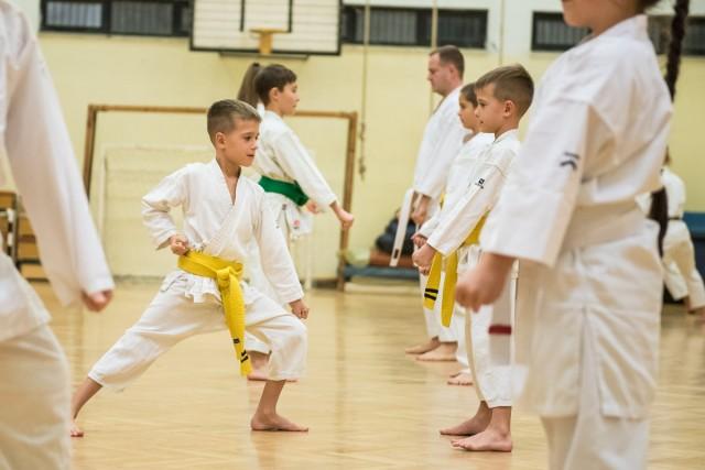 Karateedzésen jártunk – képriport