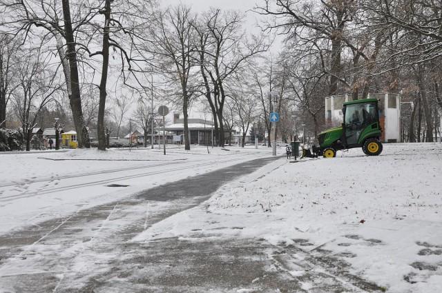 Nem okoz fennakadást a havazás