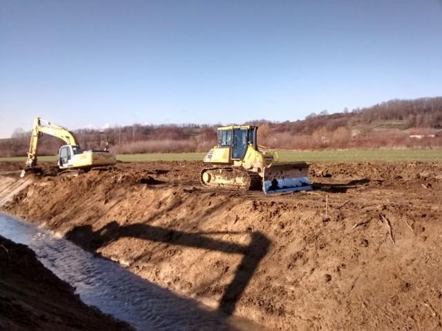 Víztárolót építenek az árvizek csökkentésére a Baranya csatorna vízgyűjtőjén