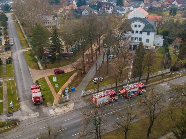 Gyakorlat segíti a tűzoltók munkáját