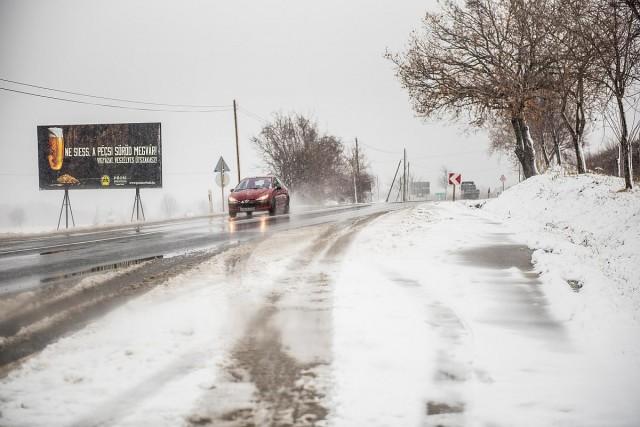 Pillanatkép: járhatóak az utak, nincs elzárt település a régióban