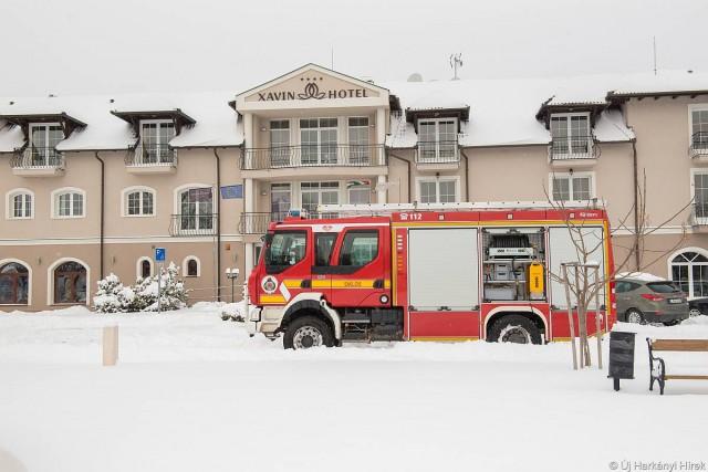 Első a biztonság: harkányi szállodában tréningeztek a tűzoltók
