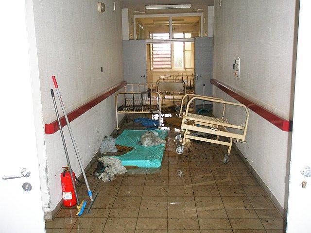 Ötvenkét embert kellett kimenekíteni a debreceni kórházból