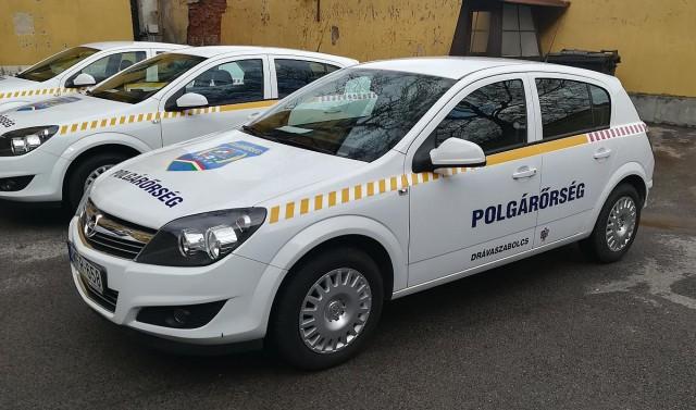 Új autó segíti a drávaszabolcsi polgárőröket