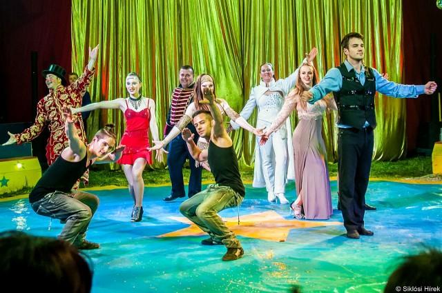 Jövő hétvége a cirkuszé Siklóson
