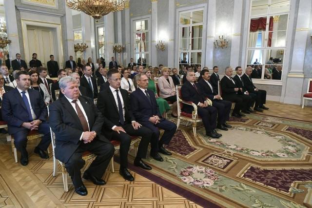 Ők az új kormány miniszterei