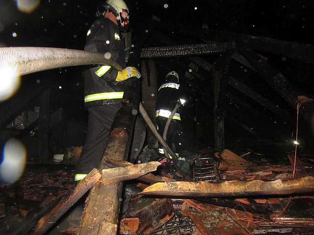 Leégett egy ház a Ságvári utcában