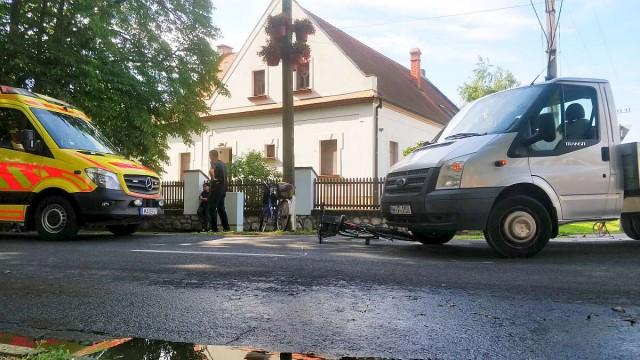 Súlyos sérülést szenvedett a Petőfi utcában elütött kerékpáros