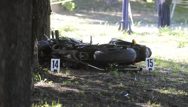 Halálos baleset Dunakeszin. Fotó: Mihádák Zoltán, MTI