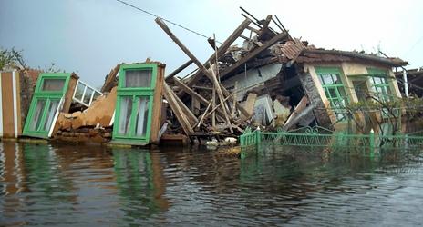Tovább tart az árvízkészültség Romániában