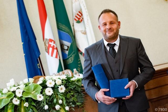 Baranya Fejlődéséért Díjat kapott Kovács Gábor