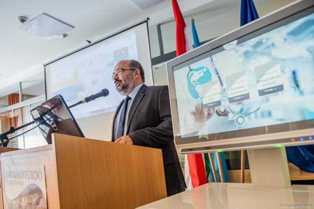 Nagy Csaba: európai színvonalra lép a harkányi kórház