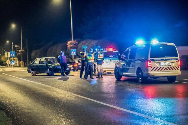 Horvát és magyar autó ütközött a négysávos kereszteződésében