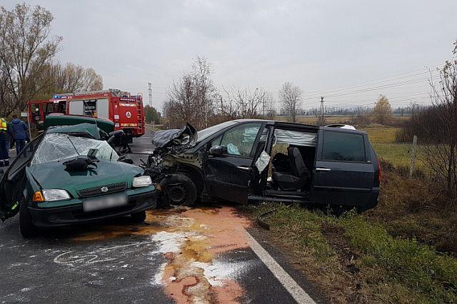 Halálos baleset történt Pécs mellett