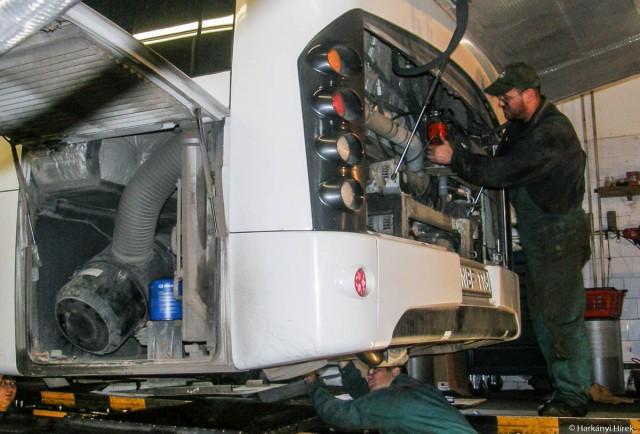 Véget ért az autóbuszok téli felkészítése - fotó: DDKK