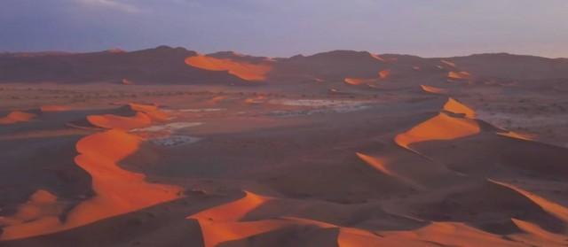 Egy perc nyár – elképesztő videón a namíbiai sivatag