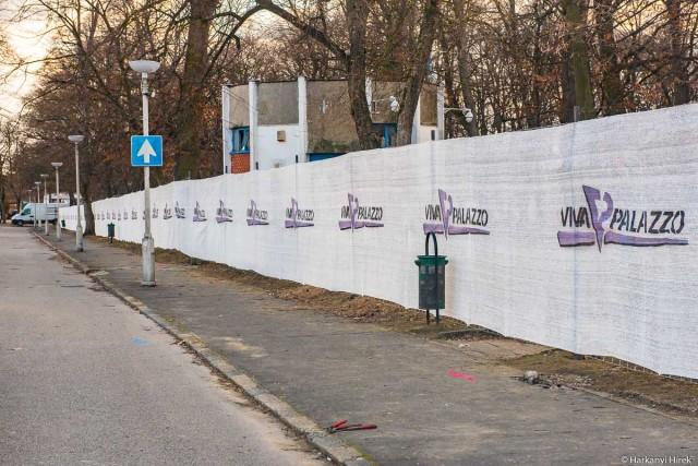 Gyorshír: megkezdődtek az előkészületek a Zsigmondy sétányon