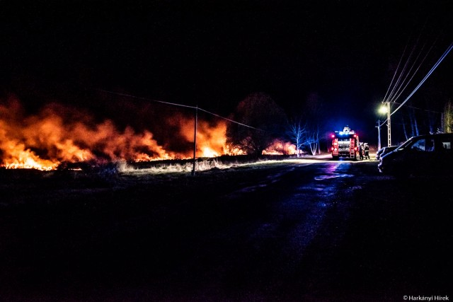 Tűz volt Drávapalkonyán
