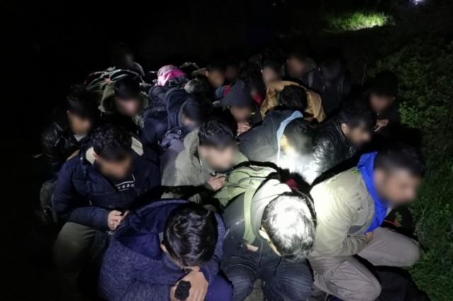 Megint találtak egy csomó migránst Drávaszabolcsnál