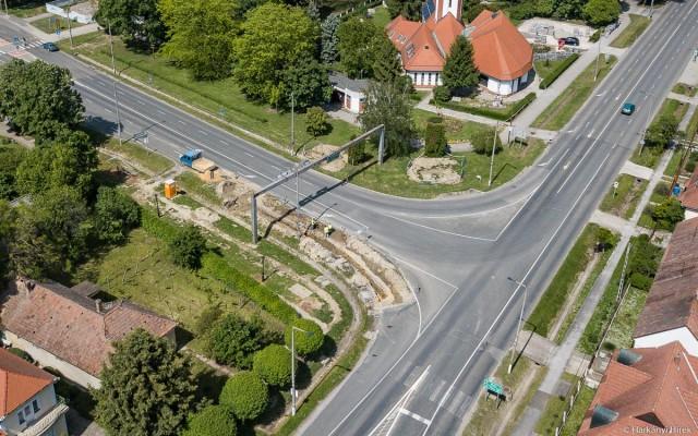 Körforgalom: júniustól augusztusig tart majd az építkezés