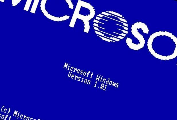 A Microsoft bemutatja: Windows 1.0