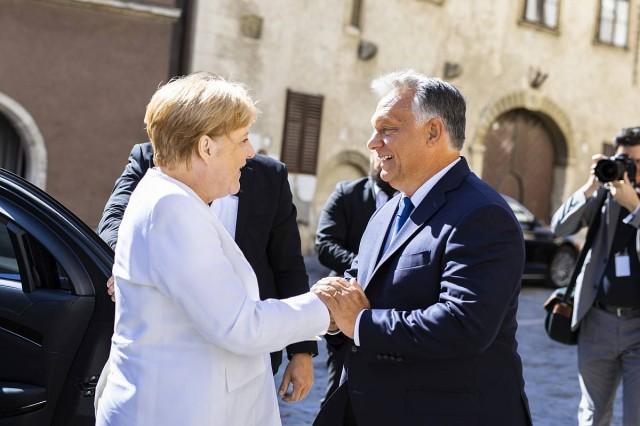 Merkel is részt vett a Páneurópai Piknik harmincadik évfordulóján rendezett istentiszteleten