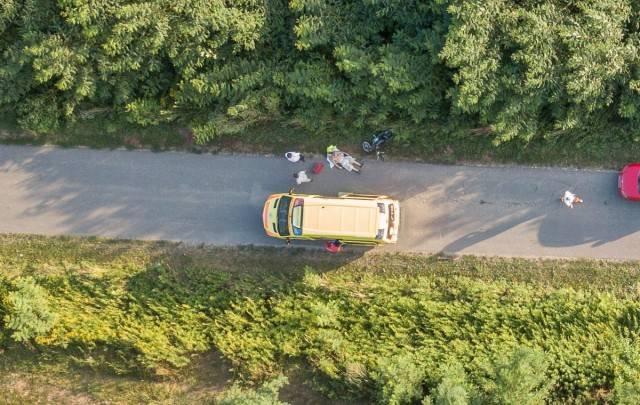 Holtan találtak egy motorost Rádfalva határában