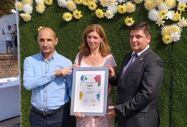 Virágos Magyarország – regionális fődíjat nyert Harkány