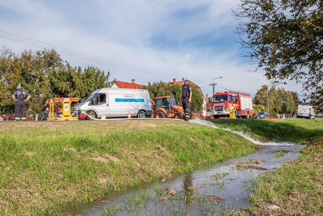 Csőtörés miatt szivattyúznak Drávaszabolcs felé