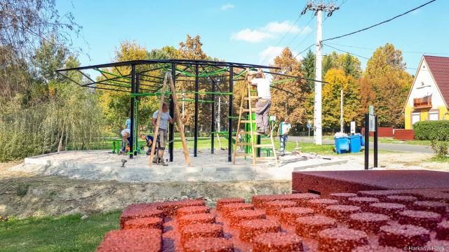 Finiséhez ért a sportpark építése