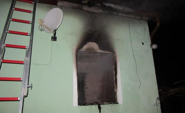 Leégett egy ház a víkendtelepen