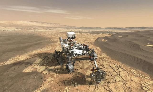 Minihelikopter is elindult a Marsra