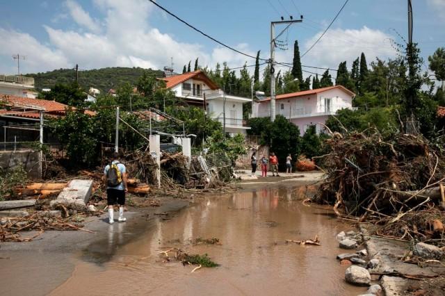 Halálos vihar csapott le a görög szigetre