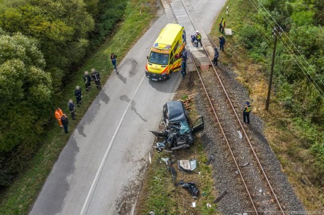 vasúti baleset sellye és kákics között