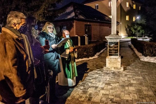 Az elhurcolt magyarországi németekre emlékeznek a táblával