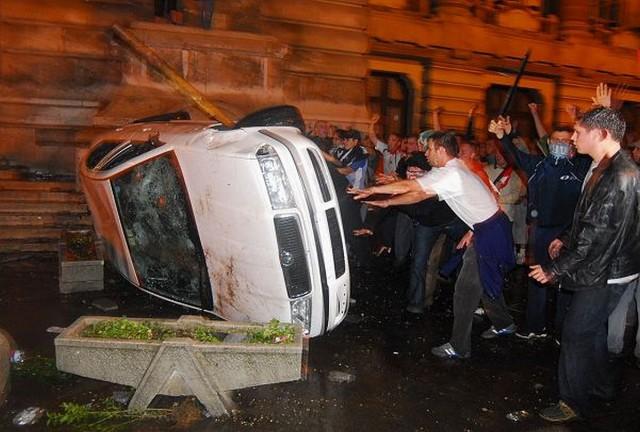 Filmet forgatnak a 2006-os zavargásokról, melyben baranyai rendőrök is részt vettek