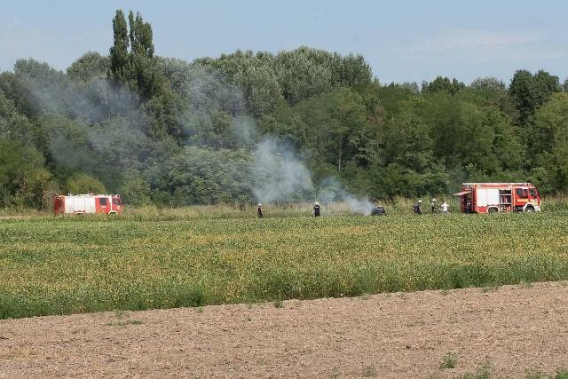 Szaporca mellé siettek a tűzoltók