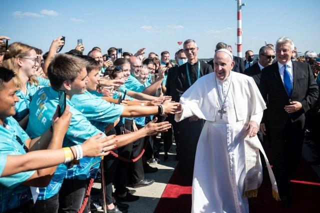 Budapesten tartott szentmisét Ferenc pápa