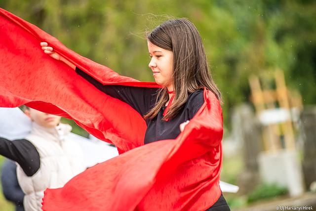 Október 6-i ünnepség Harkányban. Fotó: Kacsúr Tamás